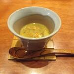 寿司 あさ海 - 蟹の茶碗蒸し