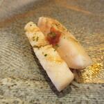 寿司 あさ海 - 太刀魚炙り