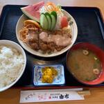鳥料理 由布 - ワンダーチキン定食(南蛮)1,100円税込