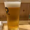 鮨屋 とんぼ - ドリンク写真:生ビール