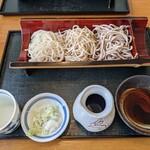 蕎麦処 満月 - 料理写真:三色そば
