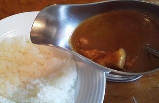 レストラン大宮 - チキンカレー