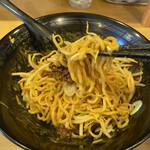 Tantammen shisen - 汁無し担々麺セット¥850