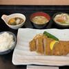 とんかつ 吉兆 - 料理写真:ヒレおろしとんかつ定食