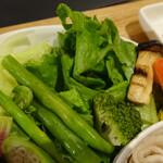 繭久里カフェ - 野菜