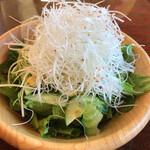 美ゆき - 料理写真:深谷ねぎたっぷりサラダ小