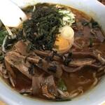 弁慶 - 料理写真:ホルモン入味噌ラーメン 880円