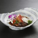 Sushi&Bar 琴 - 記念日コースの煮物金目の煮付け(※仕入れの状況により、お写真と内容が異なる場合がございます。お問い合わせ下さい)
