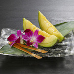 Sushi&Bar 琴 - 記念日コースのデザート(※仕入れの状況により、お写真と内容が異なる場合がございます。お問い合わせ下さい)