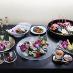 Sushi&Bar 琴 - 記念日コース(※仕入れの状況により、お写真と内容が異なる場合がございます。お問い合わせ下さい)