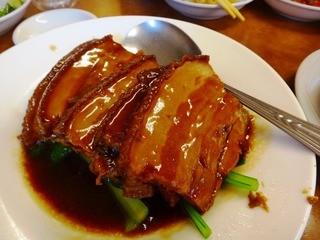 中国家庭料理 神洲之華 - 皮付きトンポウロウ