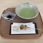 あみじま茶屋 - だんごセット 500円