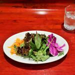 ド・マーレ湘南 - ドマーレランチコースのサラダ