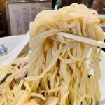 156164387 - 中華そば 肉ワンタン3個+海老ワンタン3個