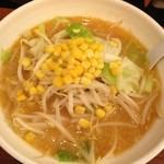 若武者 - 野菜味噌¥750