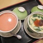 味工房 一鮨 - 海鮮茶碗蒸し・めんたい葛餡茶碗蒸し