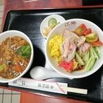 中国料理 江陽 - 着丼時の様子