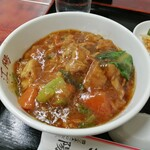 中国料理 江陽 - 豚角煮丼ミニ