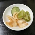 中国料理 江陽 - キムチ