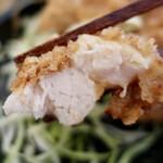 鶏&デリ - からあげ弁当・大盛(500円)