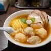 あんくるてい - 料理写真:ニコニコそば(肉2コ、海老2コ)、チャーシュー3枚