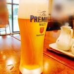 中華レストラン さんぷく - グラスビール