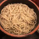 信州蕎麦の草笛 - そば、多いです…