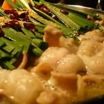 博多もつ鍋 玄海庵 - 料理写真:玄海庵のもつ鍋は最高級黒毛和牛白もつを使用しております。