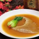 青樺 - 料理写真:ふかひれの姿煮