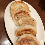 中華料理 華景園 - 焼き餃子 ¥400