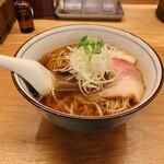 らぁ麺 ふじ松 - 醤油らぁ麺 800円(税込)