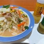 リンガーハット - 野菜たっぷりちゃんぽんと2種類のドレッシング