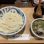 156190595 - オリーブ豚のつけ麺(冷)(大盛り)