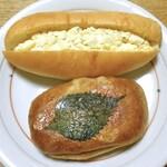 ぱんや 徳之助 - タマゴサラダコッペ & ツナとジャガイモのパニーニ