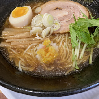 麺王 みらい - 料理写真:冷やしラーメン¥800