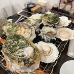 宮城の牡蠣小屋 - 料理写真:海鮮焼き♫
