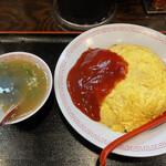 ラーメン道楽 - オムヤキメシ