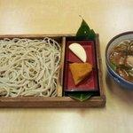 藤治朗 - 鴨付け汁板そば(1000円)