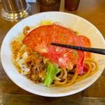 麺屋 歩夢 - スライストマト