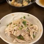 笑福庵 - 料理写真:蒸し鶏ポン酢