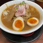蔵味噌ラーメン 晴っぴ - 料理写真:味玉蔵味噌ラーメン