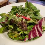 丿貫 - 丿貫(苦味野菜のグリーンサラダ)