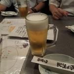 肥後 ばっ天 - ビールで乾杯♪