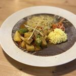 カレーのアキンボ - 野菜カレー