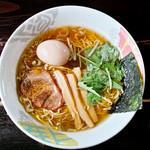 ぐうでん - 「香味醤油ラーメン」(2012.09)