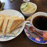 豆や 珈楽 - 料理写真:エッグトーストのモーニング