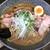 自己流ラーメン綿麺 - 料理写真:和風とんこつ大盛 燻製ハムトッピング(2021年7月)