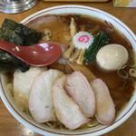 156260495 - 焼豚ワンタン麺味玉入り