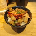 本丸亭 - ミニまんま丼