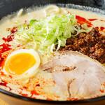 坦々麺 四川 - 料理写真:白ゴマ担々麺